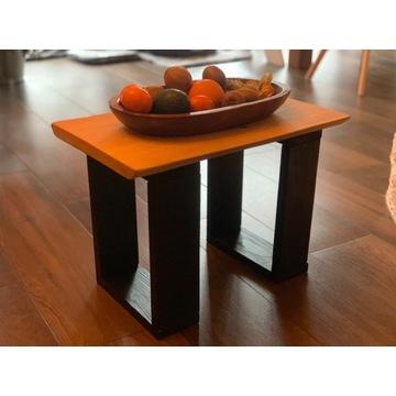 Stolik kawowy 54cmx30x38cm drewno Loft PROMOCJA!