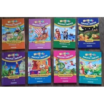 Ksiązki dla małych i dużych - DeAgostini 8 tomów
