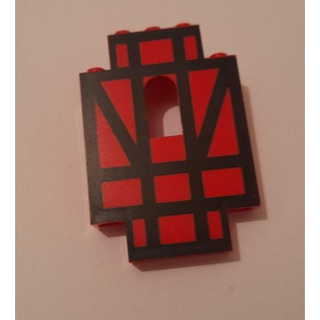 LEGO Castle Panel 4444p03 do 6067 Guarded Inn