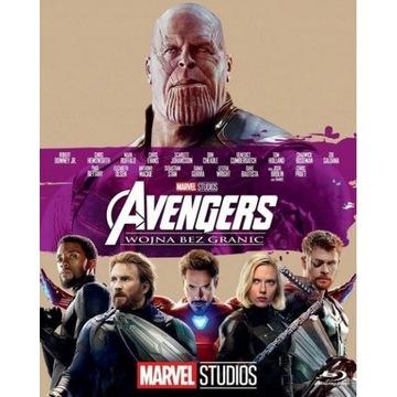 Avengers: Wojna bez granic 2018  BLU-RAY  PL dubin