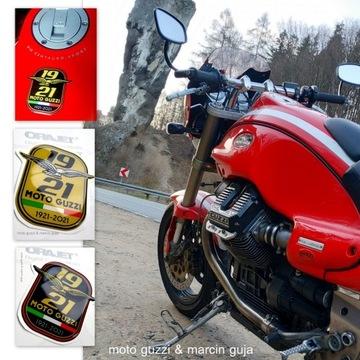 Moto Guzzi Naklejka 3D Gel zestaw   wodoodporne