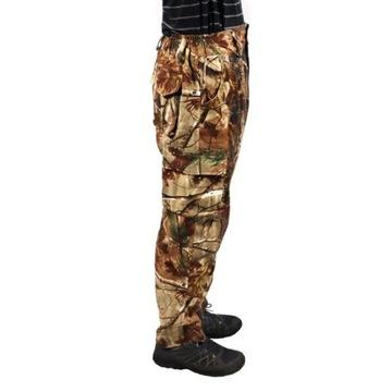 Spodnie CAMO dla Wędkarza Myśliwego MORO Brąz 48 M