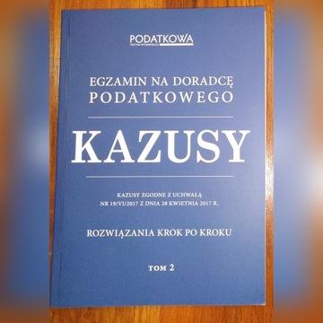 Kazusy - egzamin na doradcę podatkowego TOM 2