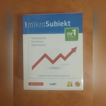 mikroSubiekt InsERT - program do faktur