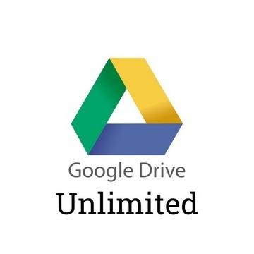 Unlimited Dysk Google Drive TWOJE KONTO