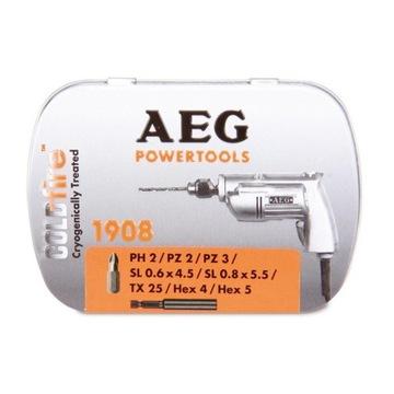 AEG ZESTAW BITÓW RETRO COLD FIRE nr 4932 4300 03