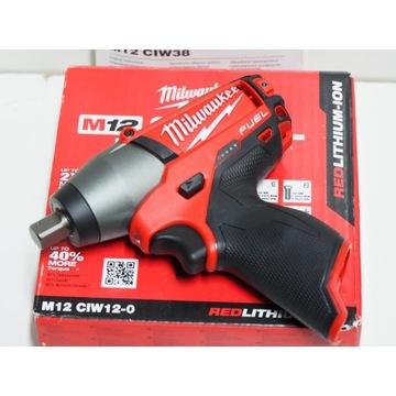 MILWAUKEE M12 CIW 12 klucz udarowy 160Nm 1/2'