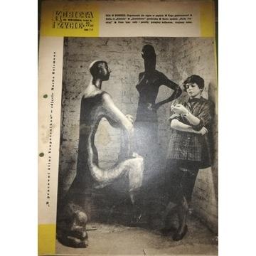 PRL stara gazeta Kobieta i Życie - 1956 rok