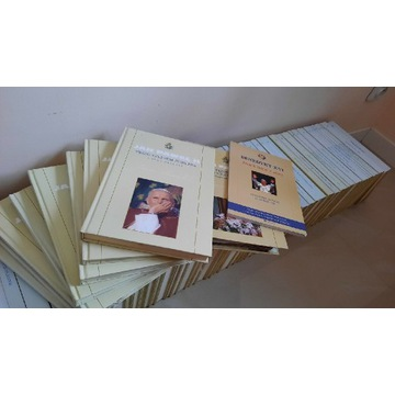 Kolekcja książek Jana Pawła II wydanie Hachette