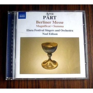 ARVO PART - Berliner Messe CD Magnificat Summa
