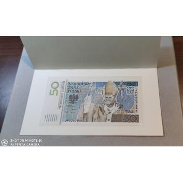Banknot kolekcjonerski Jan Paweł II, 2006 r.