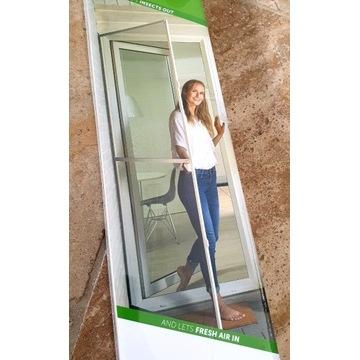 Solidna moskitiera balkonowa do 230 cm x 100 cm
