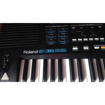 Keyboard ROLAND E36 do nauki, na scenę, do studia