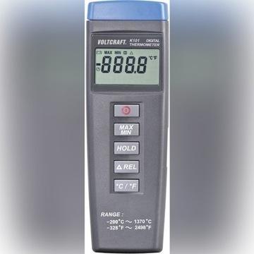 Termometr przemysłowy Voltcraft K101