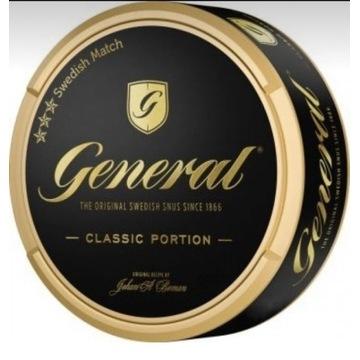 General Classic  pudełka kolekcjonerskie od snus