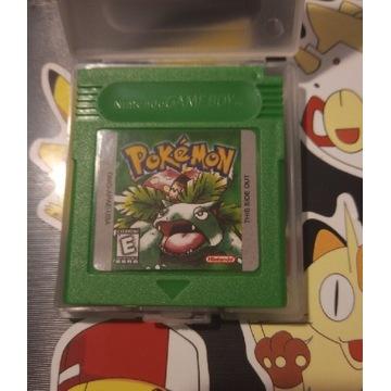 Gra Pokemon Green gameboy color gbc game boy PL