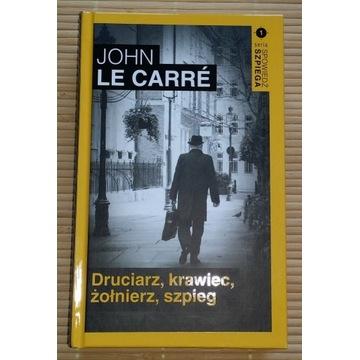 John Le Carre DRUCIARZ KRAWIEC ŻOŁNIERZ SZPIEG