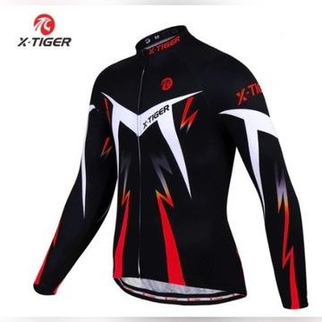 Bluza termiczna rowerowa Jersey X-Tiger