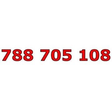 788 705 108 T-MOBILE ŁATWY ZŁOTY NUMER STARTER