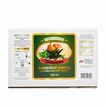 Koncentrat ziołowy Waldmeister 300 ml - Krosno