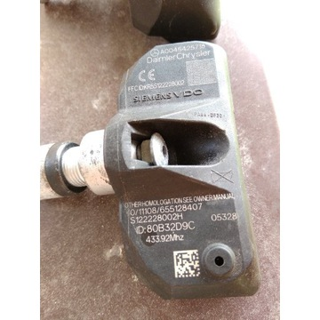 Czujniki ciśnienia Mercedes TPMS A0045425718 433