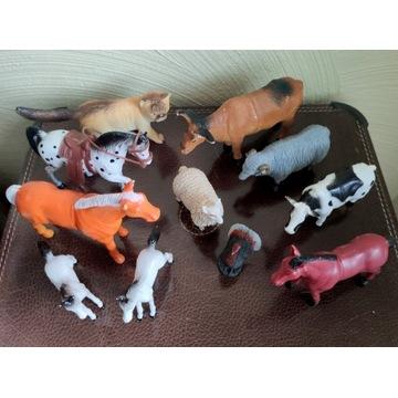 Figurki zwierzątek 11 szt. farma