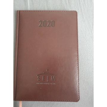 Kalendarz książkowy sejm 2020