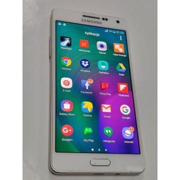 Wyświetlacz Samsung A5  A500  Biały Oryginalny
