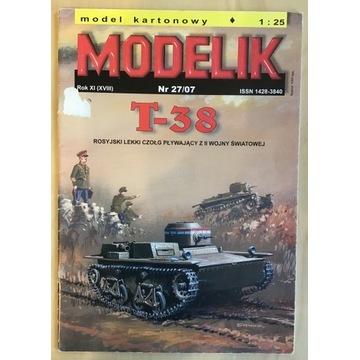 Czołg T38 Modelik