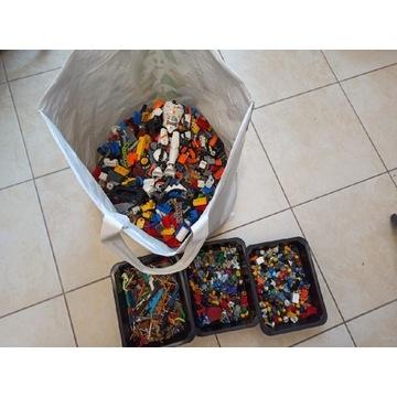 Mix klocków LEGO 5,3kg dużo minifigurek !