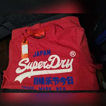 Nowy T-shit Superdry roz. S