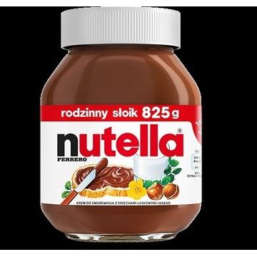 Słoik krem Nutella 825g oryginalny - nowy! fartuch