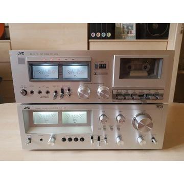 JVC JA-S55 oraz KD-10 nowe elektrolity