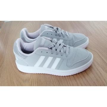 Buty Adidas Hoops 2.0. r.38 wkł. 24,5 stan bdb