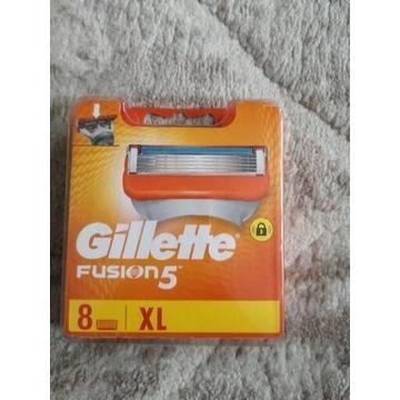 Gillette fusion 5 ostrza wkłady x8