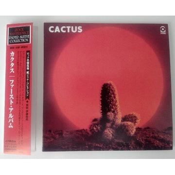 CD Cactus - Cactus JAPAN OBI Mini LP Blues-rock