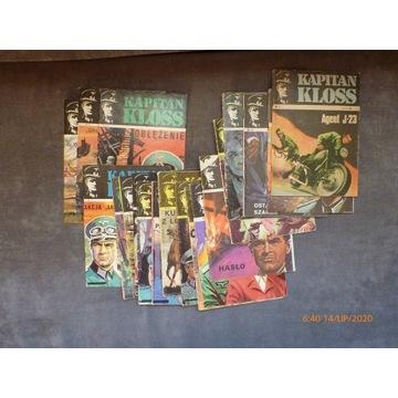 Kapitan Kloss wyd II komplet 20 komiksów