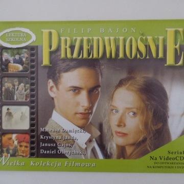 PRZEDWIOŚNIE  - 4 VCD