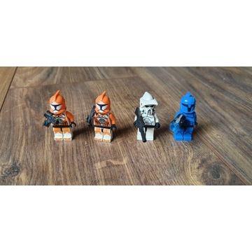 Figurki lego star wars