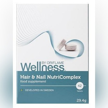 Kompleks odżywczy do włosów i paznokci Wellness