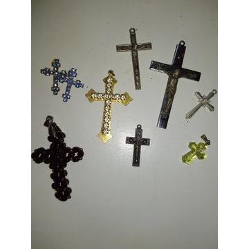 Stare krzyżyki z różnych lat 8 szt