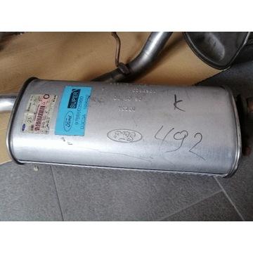 Tłumik układu wydechowego środkowy MONDEO I,II