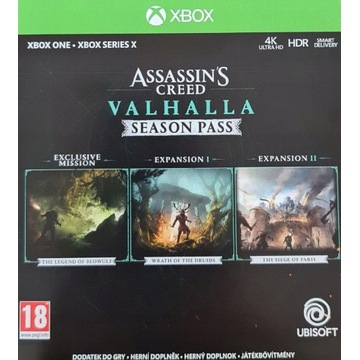 DLC Season Pass Assassin's Creed Valhalla XBOX X