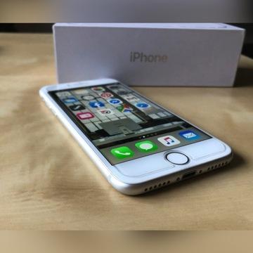 iPhone 8 256GB SILVER bez simlock komplet j. nowy