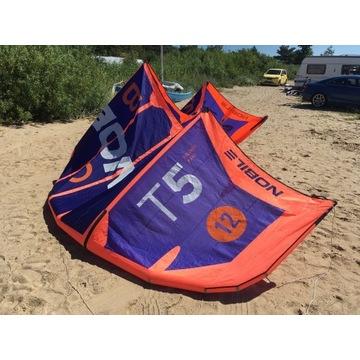 Latawiec kitesurfing kite Nobile T5 12m