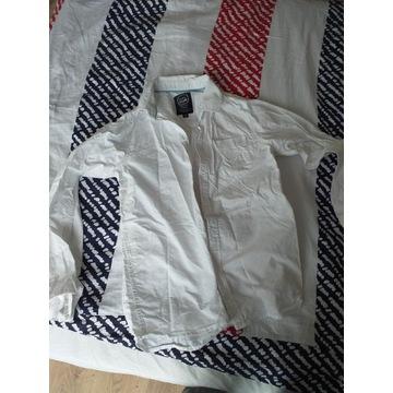Koszula biala dla chlopca z dl. rękawem r.164 cm