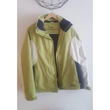 Nowa kurtka narciarska 38 zielono-biała Tchibo