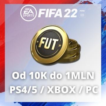 FIFA 22 Coins PS4 / XBOX / PC 100k