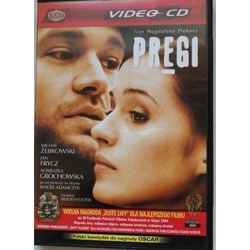 """FILM """"PRĘGI VCD, 2 PŁYTY, PUDEŁKO. JAK NOWY."""