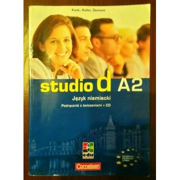 Studio D A2 podręcznik z ćwiczeniami + CD + klucz
